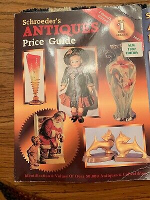 Schroeders Antiques Price Guide - 1997 HUGE BOOK! Loaded !