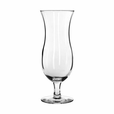 12x Cyclone Glass 444mL Libbey Hurricane Cocktail Pina Colada Restaurant Bar
