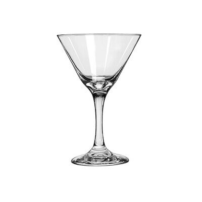 12x Martini Glass 274mL Libbey Embassy Cocktail Martini Mixed Drink Mixology Bar