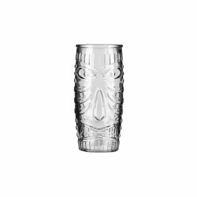 Tiki Cocktail Tumbler Glass 591ml Libbey Mixed Drink Bar Quirky Barware