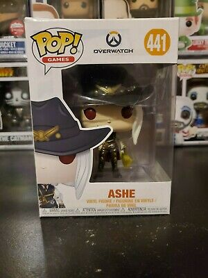 Funko Pop! Games Overwatch Ashe #441 Vinyl Figure WITH PROTECTOR!