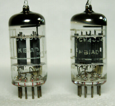 1   0.06% Super Matched pair  Brimar CV4004 / E83CC / 6057 Used, but tests new