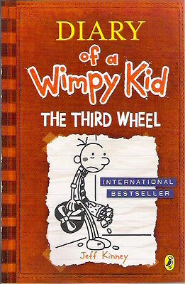 DIARY OF A WIMPY KID THIRD WHEEL Jeff Kinney New paperback Child Classic Collect