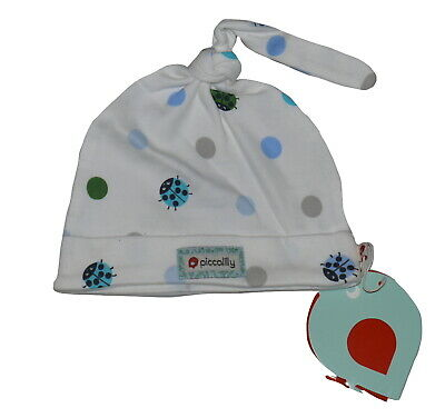 Piccalilly Spotty Ladybird Baby Hat, BNWT 6-12 Months
