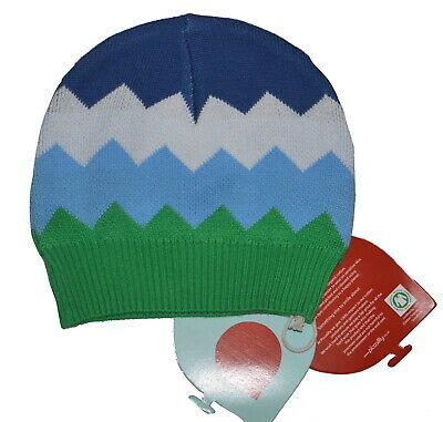 Piccalilly 100% Organic Cotton Baby Hat, BNWT 0-6 Months