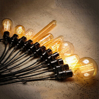 1*Vintage Retro Filament Edison Antique Industrial Type Lamp Light Bulbs 40W E27
