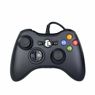 New Black Wired Controller for Xbox 360 Console USB Windows/PC HU