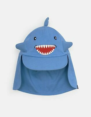 Joules Baby Sunfun Character Hat in BLUE SHARK
