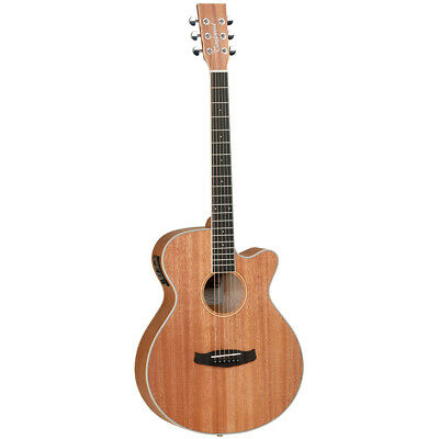 Tanglewood Union Super Folk Electro Acoustic Guitar + Gig Bag, Spare strings