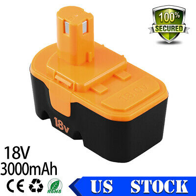 ABP1801 3.0Ah Replace for Ryobi 18v Battery ONE+ P100 P101 1322401 1400672 13022