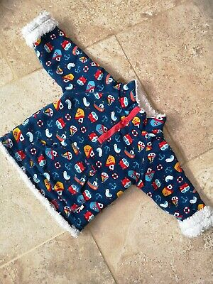 Very Good Condition Frugi Snuggle Fleece 12-18 Months