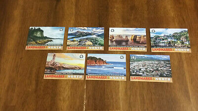 2018-19 OPC Coast To Coast 7 Card Landmarks of the North Lot