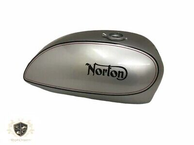 Norton Commando Interstate Silver Painted Gas Fuel Petrol Tank (Fits For)