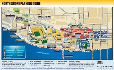Pittsburgh Steelers Vs Bengals  Gold Lot Parking Pass 9/30/19 No Tickets