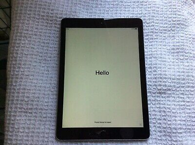 Apple iPad Air 1st Gen. 16GB Wi-Fi 9.7in - Space Grey Cracked Screen