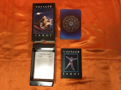 Voyager Tarot Intuition Cards By James Wanless Ken Knutson Includes Guidebook