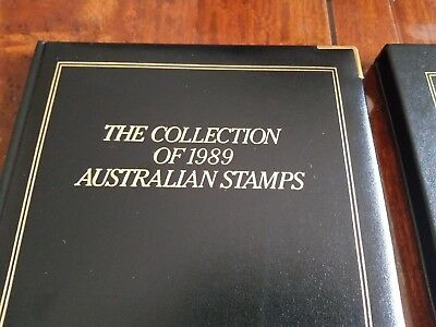 Australia Post 1989 Collection Of Australian Stamps - Executive Leather Edition