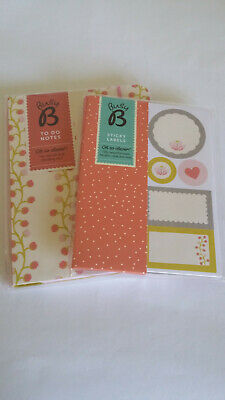 Christmas Gift Busy Bee Stationery To Do Notebook Labels Stickers Handbag Size