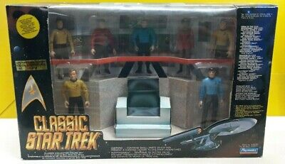 Classic Star Trek Bridge Playset, Playmates, Neu , ungeöffnet 1993, No 13619