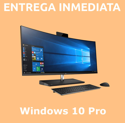 Windows 10 Pro - 32/64 bits 100% clave/Key ORIGINAL - ESPAÑA ENTREGA INMEDIATA