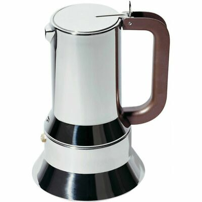 NEW Alessi 9090/3 RICHARD SAPPER Stainless Steel STOVE TOP Espresso Coffee Maker