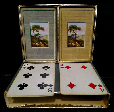 VINTAGE PLAYING CARDS -  2 Decks of Playing Cards