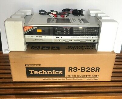 Technics RS-B28R Stero Cassette Deck Vintage Working Deadstock Boxed