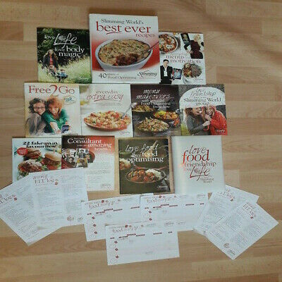 Slimming World Starter pack with fakeaway booklet, cookbook and food diaries