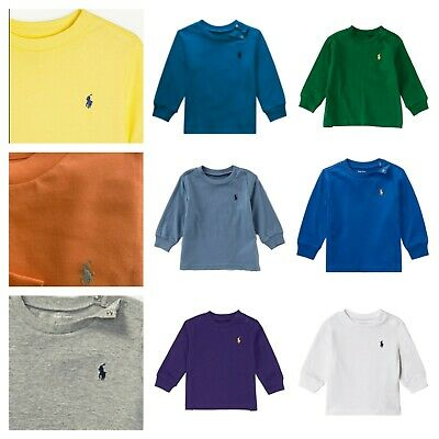 New Genuine Ralph Lauren baby boys  girls long sleeved T shirt top EXTRA 20% OFF