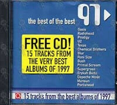 Q Magazine - The Best of The Best 97.CD Various artists U2, RADIOHEAD OASIS