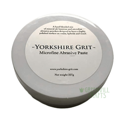 Yorkshire Grit - Microfine - Woodturners Abrasive Paste