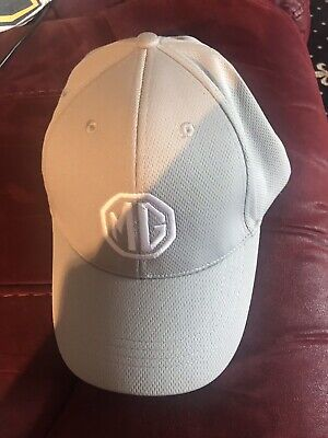 MG Official Unisex Baseball Cap Grey With embroidered MG Car Logo