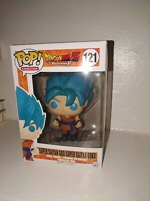 Funko Pop! Dragon Ball Z Super Saiyan God Blue Goku #121