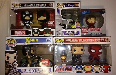 Funko POP Lot Marvel Exclusives