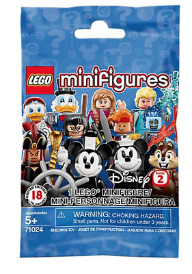 new LEGO Disney Minifigures Series 2 UNOPENED & IN HAND You Choose 71024 Dewey