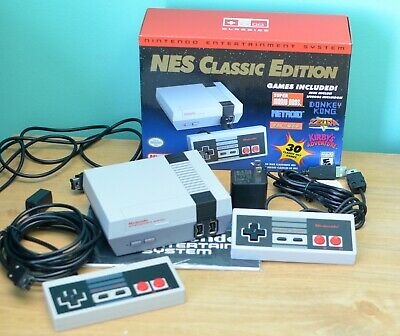 Nintendo NES Classic Edition Mini Console with extra controller