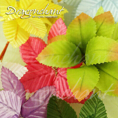 CLEARANCE! Wired Artificial Leaf Flowers Arrangement Stamen Wedding Millinery