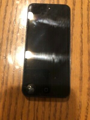 Working Apple Black Ipod Touch 5th Generation 32gb