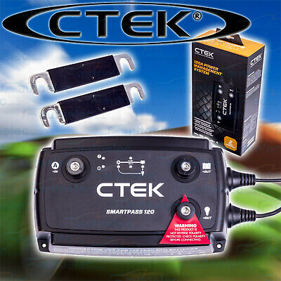 Ctek Dc To Dc Dual Battery Charger Management System 12V 12 Volt Smartpass 120