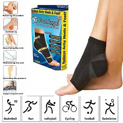 Compression Foot Ankle Angel Sleeve Anti Fatigue Compression Foot Sleeve Sock