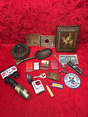 Antique & Vintage Junk Drawer Mixed Lot Good Variety