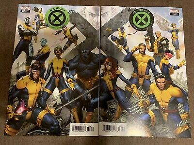 House Of X #4 & Powers Of X #4 Molina Connecting Variant Cover Set 2 Comics