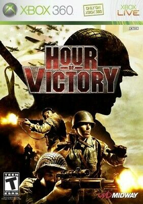 Hour Of Victory (Xbox 360) VideoGames Highly Rated eBay Seller, Great Prices