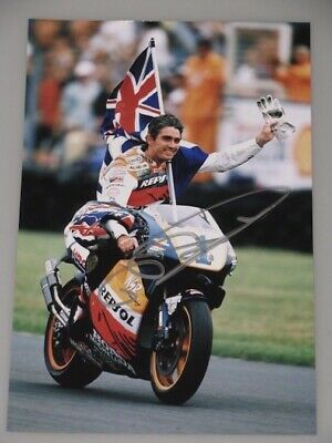 "MICK DOOHAN Hand Signed 8""x12"" Photo"