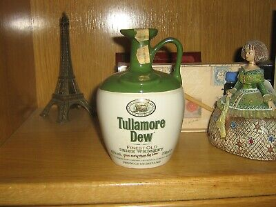 Decanter Irish Whiskey Tullamore Dew. 43º. 700 Ml. Caneco. Decantador.