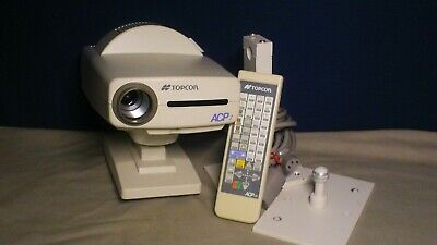 Topcon Auto Chart Projector ACP-7R with Wall Mount and Remote