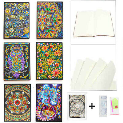 Special Shaped 5D Diamond Painting Notebook Embroidery Rhinestone Cross Stitch