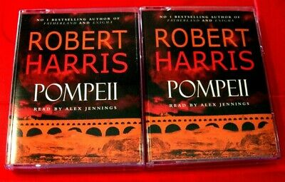 Robert Harris Pompeii 4-Tape Audio Book Alex Jennings Ancient Rome