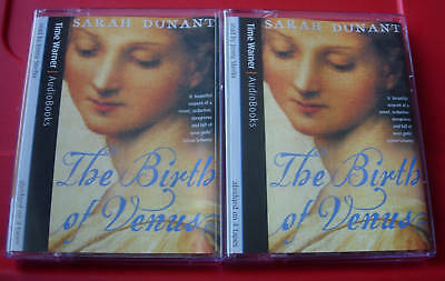 Sarah Dunant The Birth Of Venus 4-Tape Audio Book Historical Jenny Sterlin