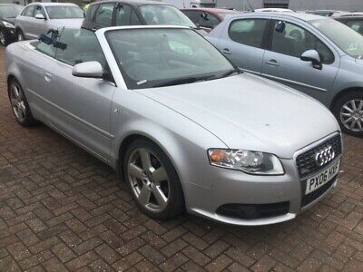 2006 Audi A4 Cabriolet 2.0 Tdi 140 S Line - Alloys, Leather, Climate